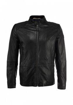 Куртка Кожаная BOSS Orange                                                                                                              чёрный цвет