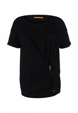 Футболка BOSS Orange                                                                                                              чёрный цвет