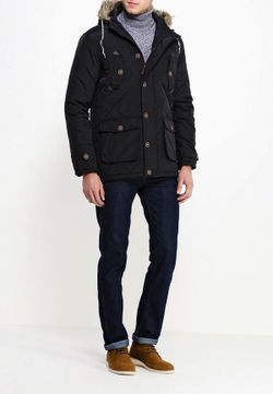 Куртка Утепленная Brave Soul                                                                                                              чёрный цвет