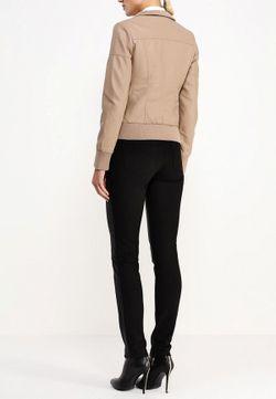 Куртка Кожаная B.Style                                                                                                              бежевый цвет