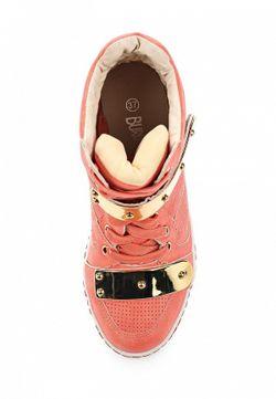 Кеды На Танкетке Burlesque                                                                                                              розовый цвет