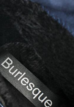 Кеды На Танкетке Burlesque                                                                                                              синий цвет