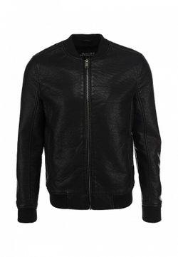Куртка Кожаная Burton Menswear London                                                                                                              черный цвет