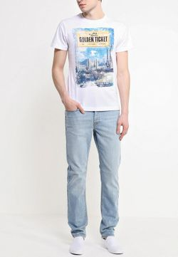 Джинсы Burton Menswear London                                                                                                              голубой цвет