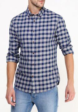 Рубашка Burton Menswear London                                                                                                              синий цвет