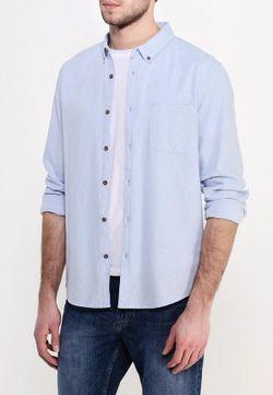 Рубашка Burton Menswear London                                                                                                              голубой цвет