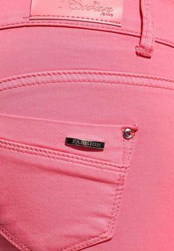 Джинсы By Swan                                                                                                              розовый цвет