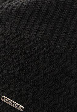 Шапка Canoe                                                                                                              черный цвет