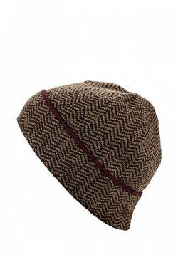 Шапка Canoe                                                                                                              коричневый цвет