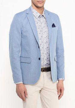 Пиджак Casual Friday By Blend                                                                                                              голубой цвет