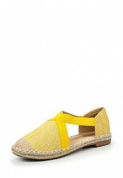 Эспадрильи Catisa                                                                                                              желтый цвет
