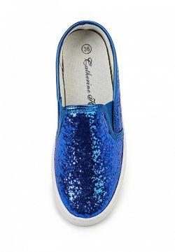 Слипоны Catherine                                                                                                              синий цвет