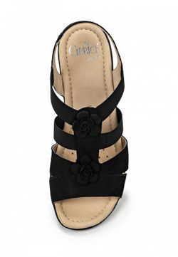 Сандалии Caprice                                                                                                              чёрный цвет