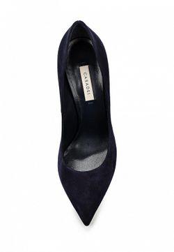 Туфли Casadei                                                                                                              синий цвет