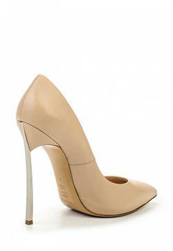 Туфли Casadei                                                                                                              бежевый цвет