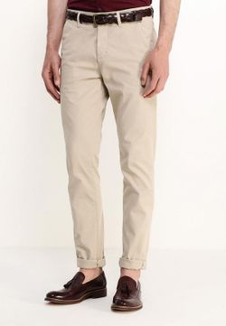 Брюки Calvin Klein Jeans                                                                                                              бежевый цвет