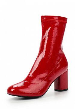 Полусапоги Cesare Correnti                                                                                                              красный цвет