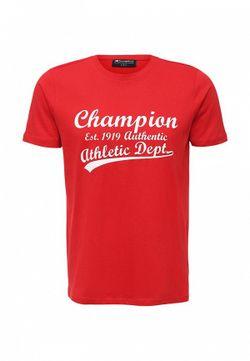 Футболка Champion                                                                                                              красный цвет