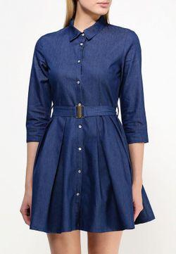 Платье City Goddess                                                                                                              синий цвет