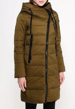 Куртка Утепленная Clasna                                                                                                              хаки цвет