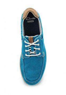 Кеды Clarks                                                                                                              голубой цвет