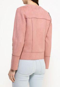 Куртка Кожаная Conver                                                                                                              розовый цвет