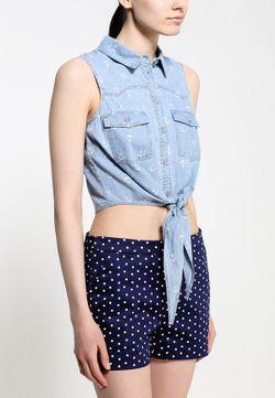 Рубашка Джинсовая Concept Club                                                                                                              голубой цвет