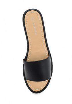 Шлепанцы Coco Perla                                                                                                              черный цвет