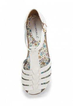 Сандалии Coco Perla                                                                                                              белый цвет