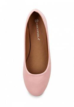 Балетки Coco Perla                                                                                                              розовый цвет