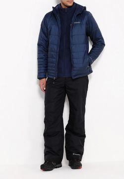 Куртка Утепленная Columbia                                                                                                              синий цвет