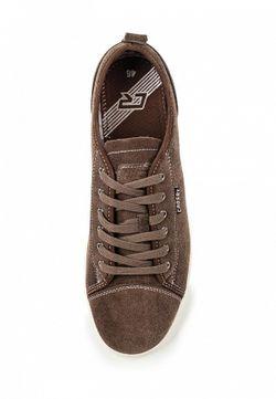 Кеды Crosby                                                                                                              коричневый цвет