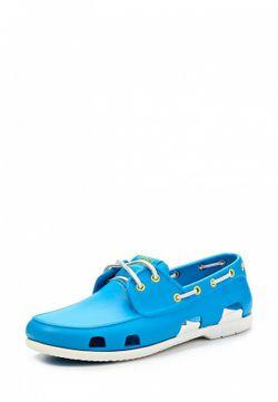 Топсайдеры Crocs                                                                                                              голубой цвет