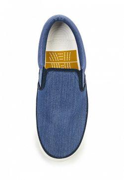 Слипоны Crocs                                                                                                              синий цвет