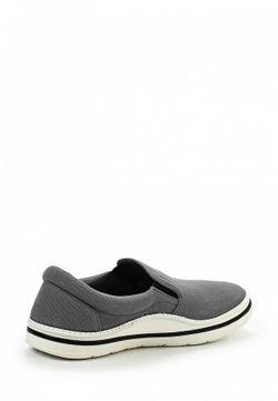 Слипоны Crocs                                                                                                              серый цвет