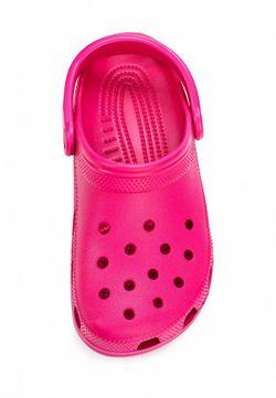 Сабо Crocs                                                                                                              Фуксия цвет
