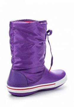 Дутики Crocs                                                                                                              фиолетовый цвет