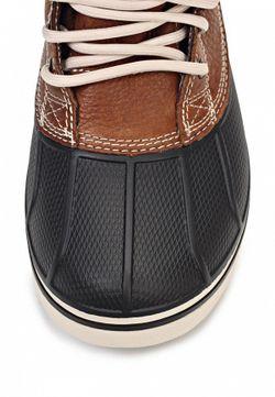 Полусапоги Crocs                                                                                                              коричневый цвет
