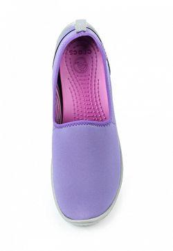 Балетки Crocs                                                                                                              фиолетовый цвет