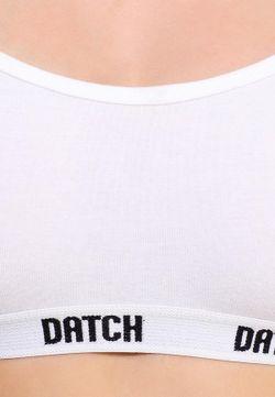 Бюстгальтер Datch                                                                                                              белый цвет