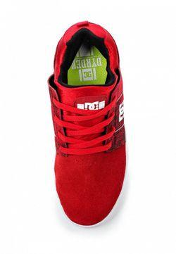 Кеды Dc Shoes Dcshoes                                                                                                              красный цвет