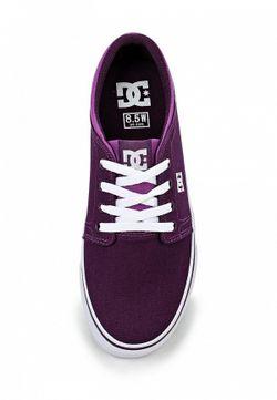 Кеды Dc Shoes Dcshoes                                                                                                              фиолетовый цвет