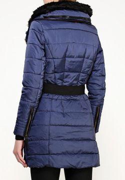 Куртка Утепленная Desigual                                                                                                              синий цвет