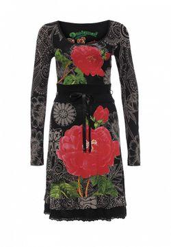 Платье Desigual                                                                                                              чёрный цвет