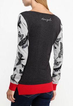 Джемпер Desigual                                                                                                              серый цвет