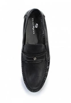 Мокасины Dino Ricci                                                                                                              чёрный цвет