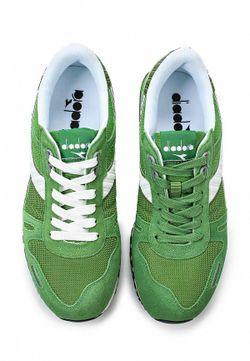 Кроссовки Diadora                                                                                                              зелёный цвет