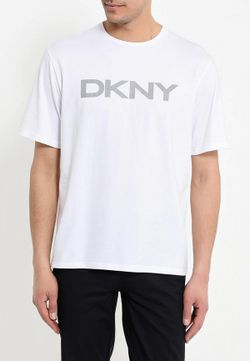 Футболка DKNY                                                                                                              белый цвет