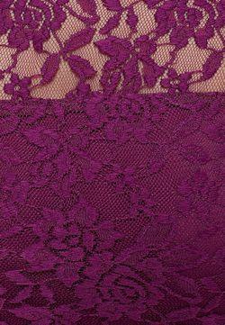 Фиолетовое Гипюровое Платье Dorothy Perkins                                                                                                              фиолетовый цвет