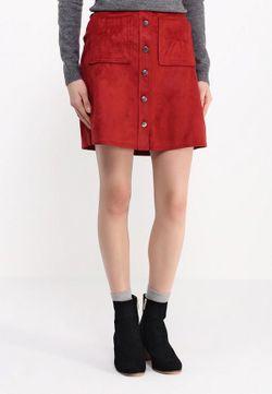 Юбка Dorothy Perkins                                                                                                              красный цвет
